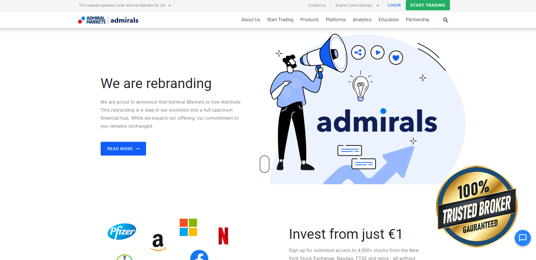 Официален сайт на Адмиралс