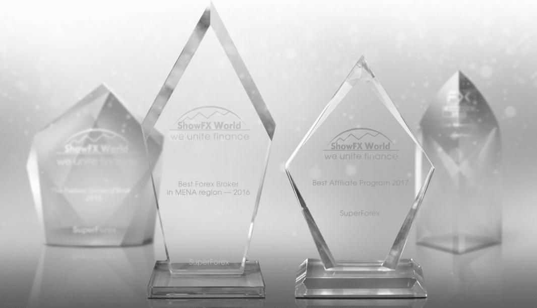 SuperForex Awards