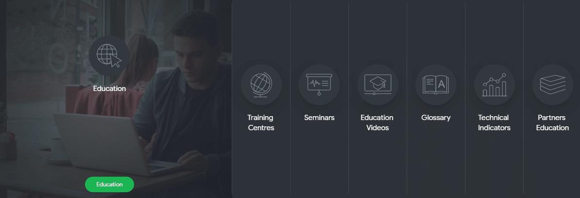 SuperForex biedt educatief materiaal