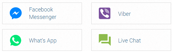 easyMarkets can be reached through Facebook Messenger, WhatsApp, Viber, and Live Chat