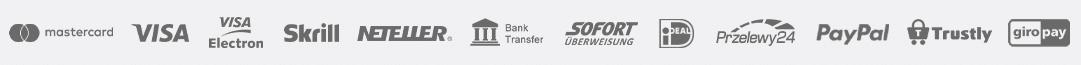 TRADE.com akceptuje następujące metody płatności