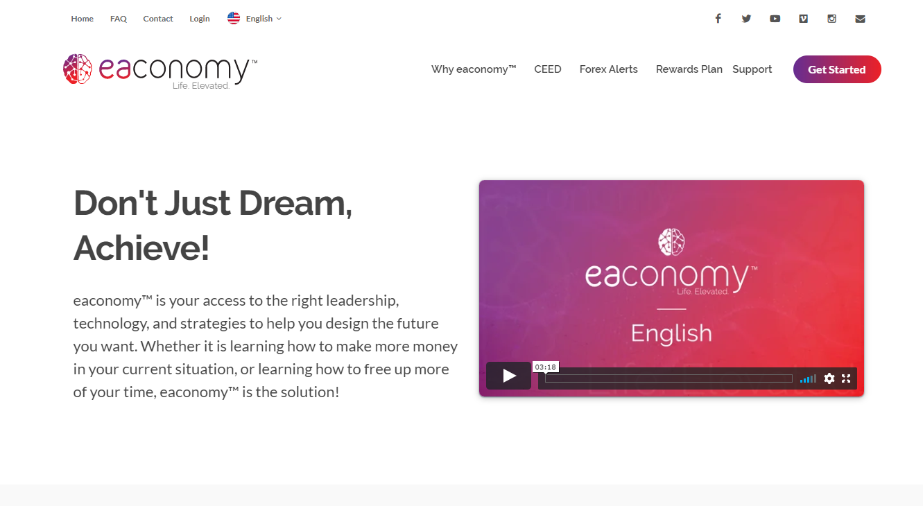 The official website of Eaconomy