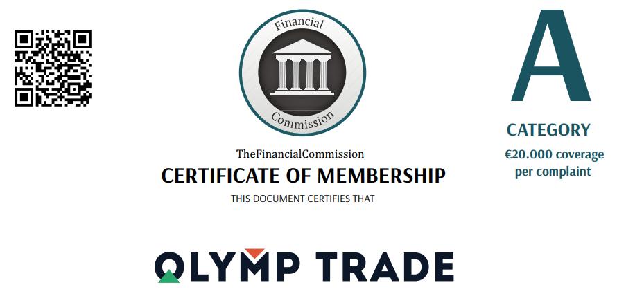 Olymp Trade está regulado por la CFI