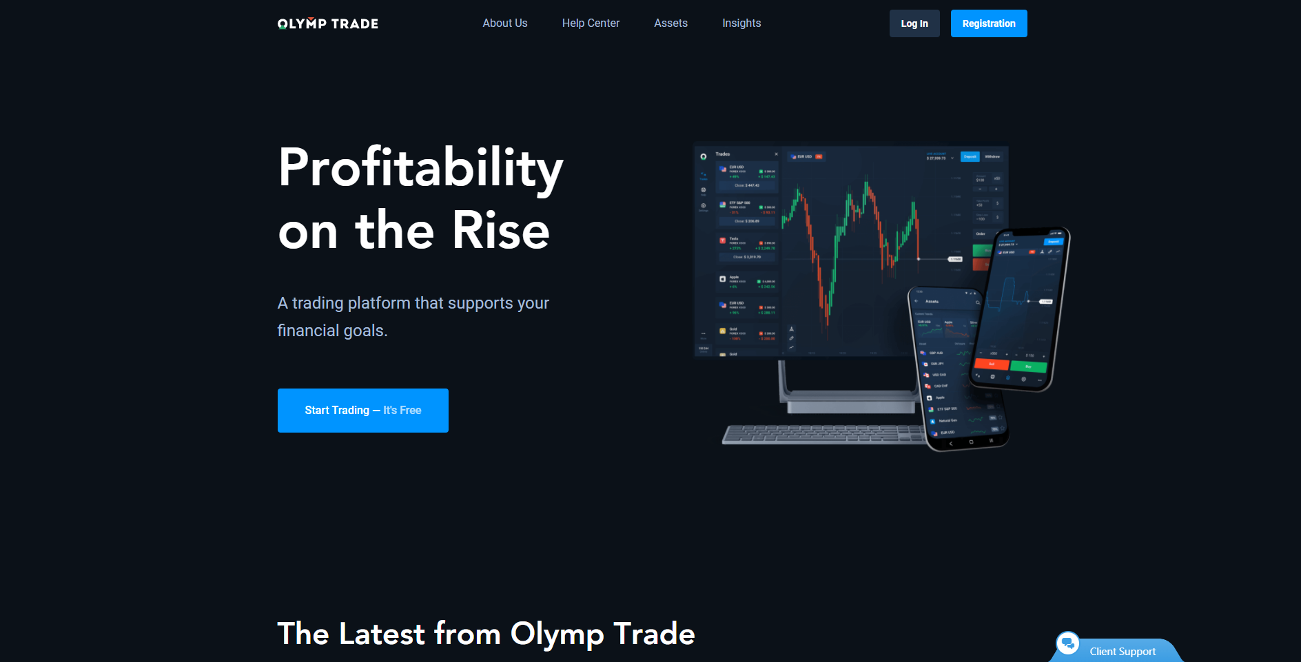 Official website of Olymp Trade