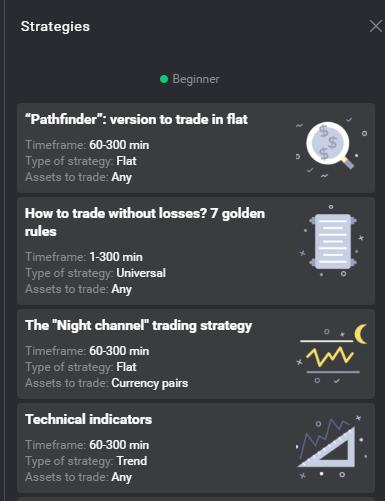 Стратегии за търговия с Binomo