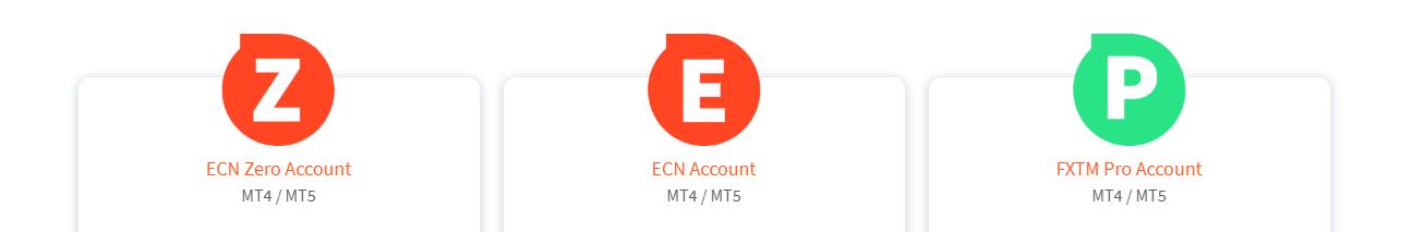 FXTM ECN accounts