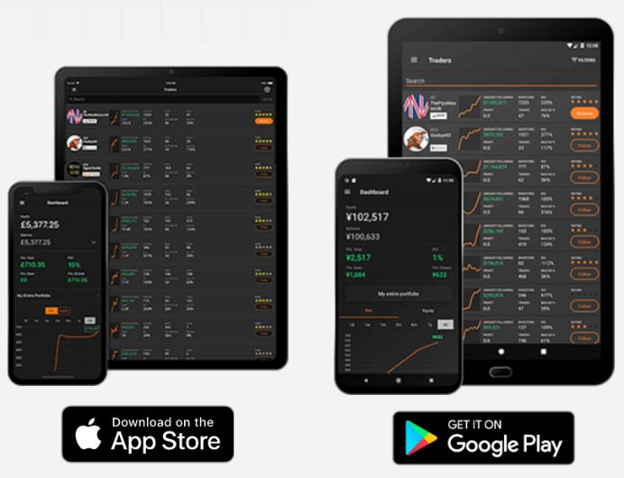 Mobiele handelsapp met ZuluTrade