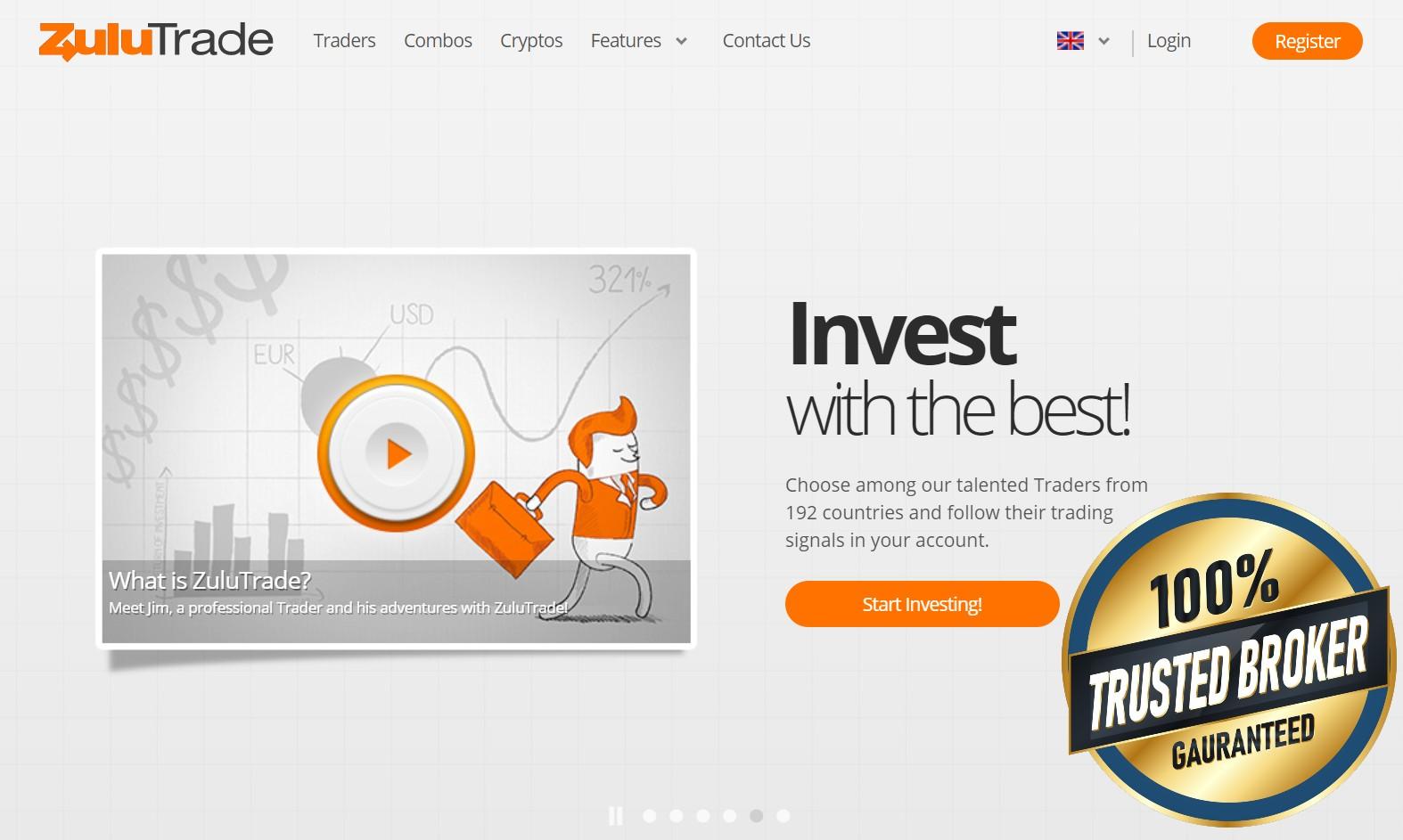ZuluTrade officiële website