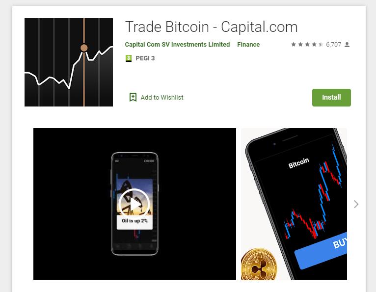 Capital.com aplikacja mobilna