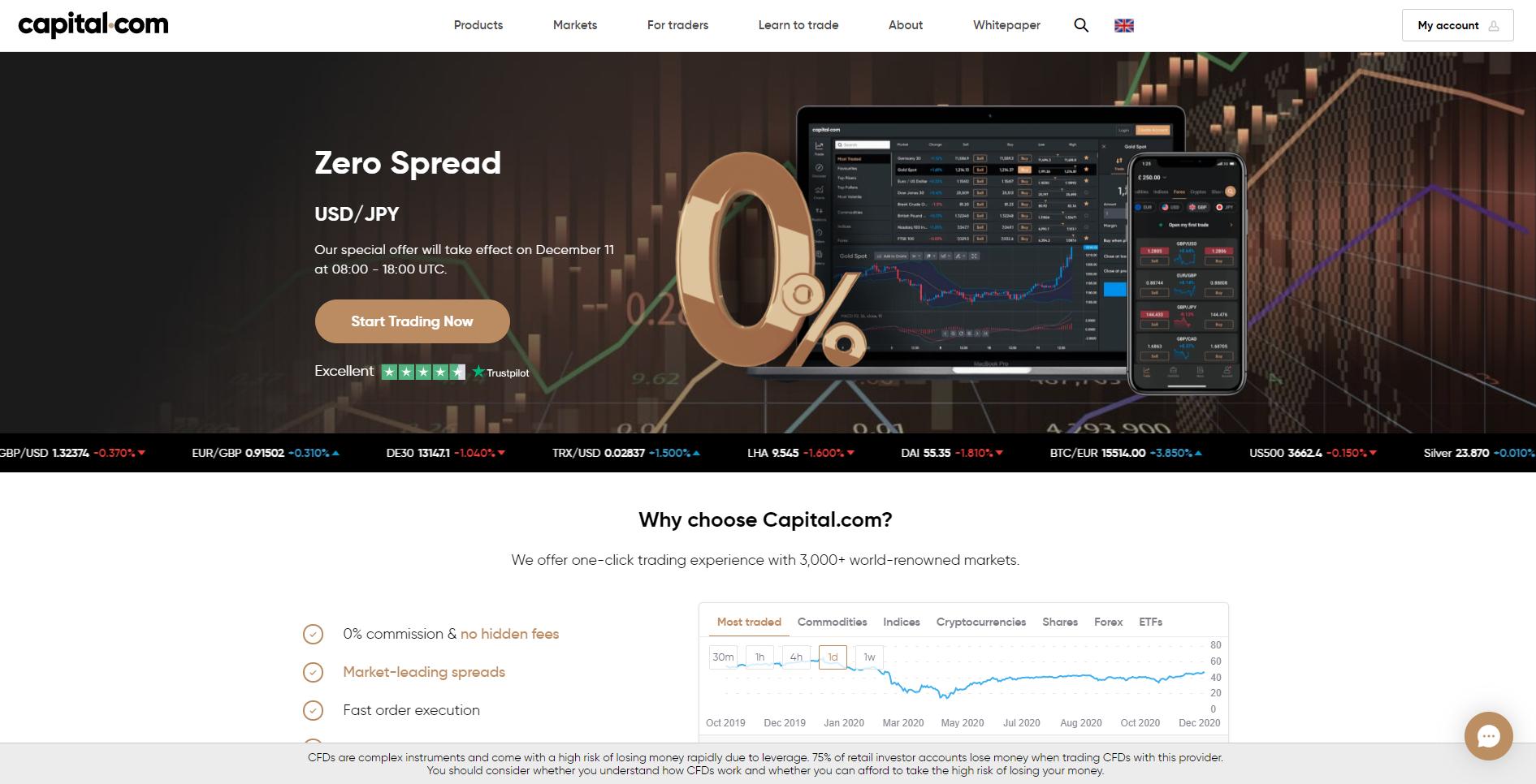 Oficjalna strona Capital.com