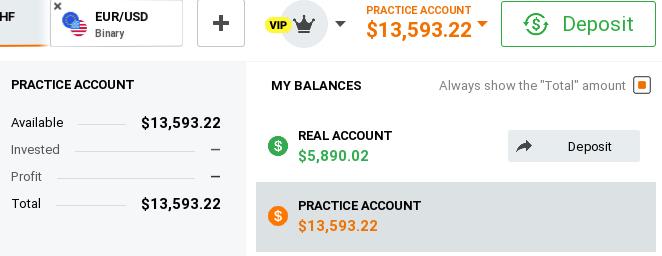 Account demo