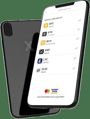 Etoro Bitcoin mobiele portemonnee