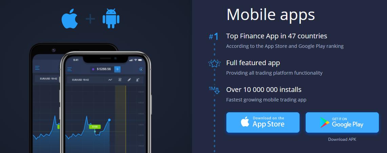 Expert Option mobile app download