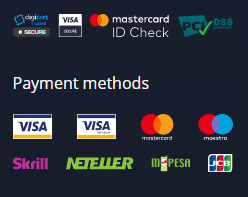 Expert Option payment methods