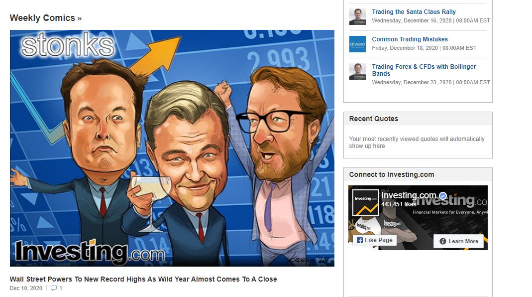 Investing.com fumetti