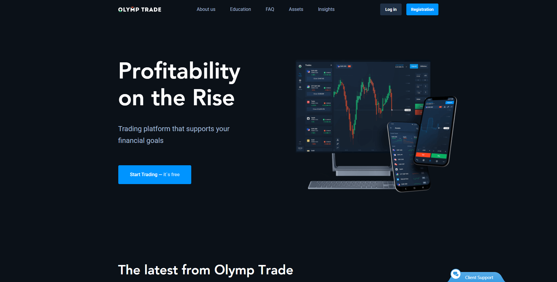Olymp Trade forex broker in Philippines