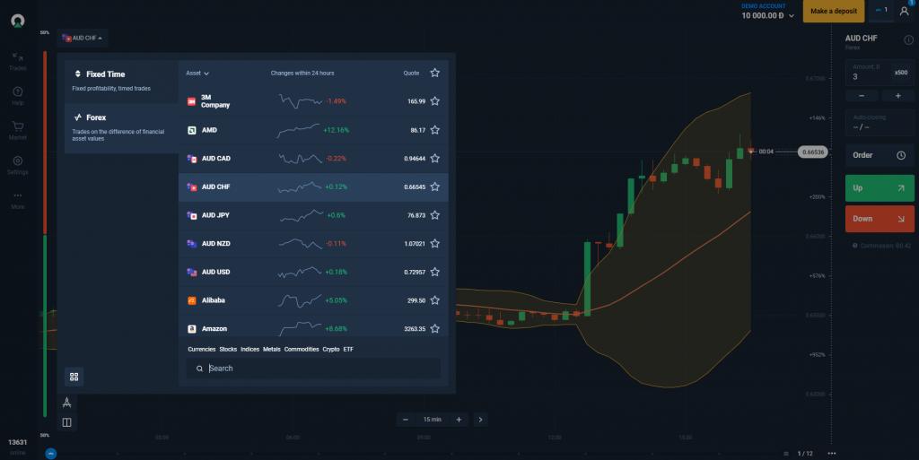 Olymp Trade forex platform
