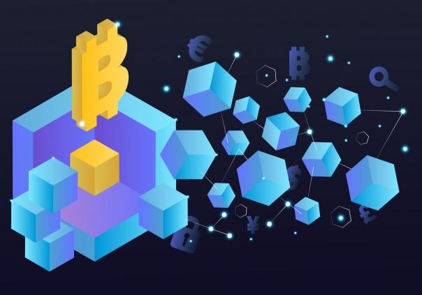 Blockchain-symbool