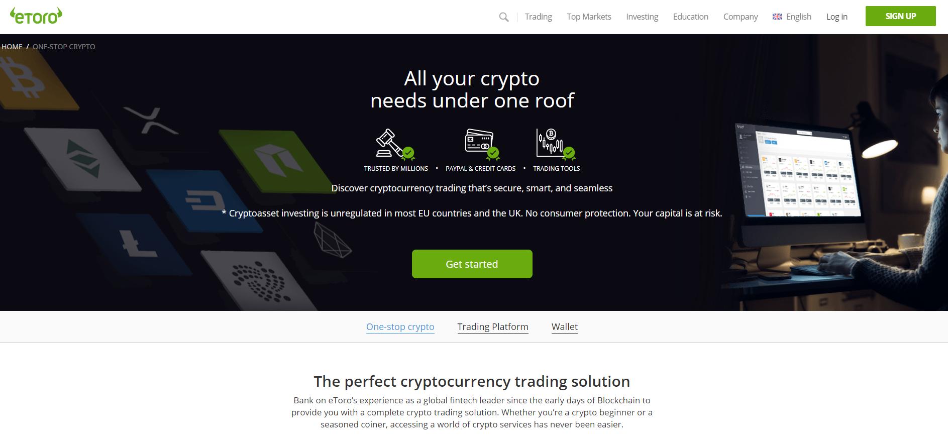 تداول العملات الرقمية في إيتورو