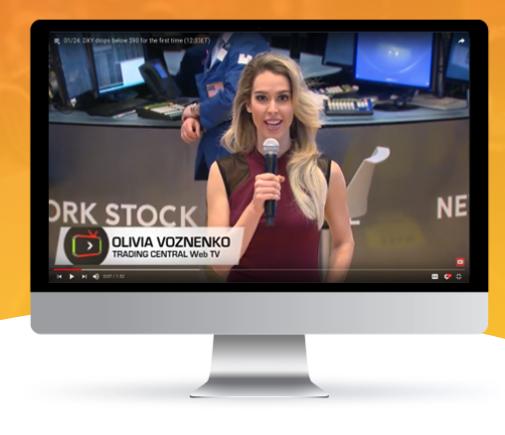 Trading Central Уеб телевизия