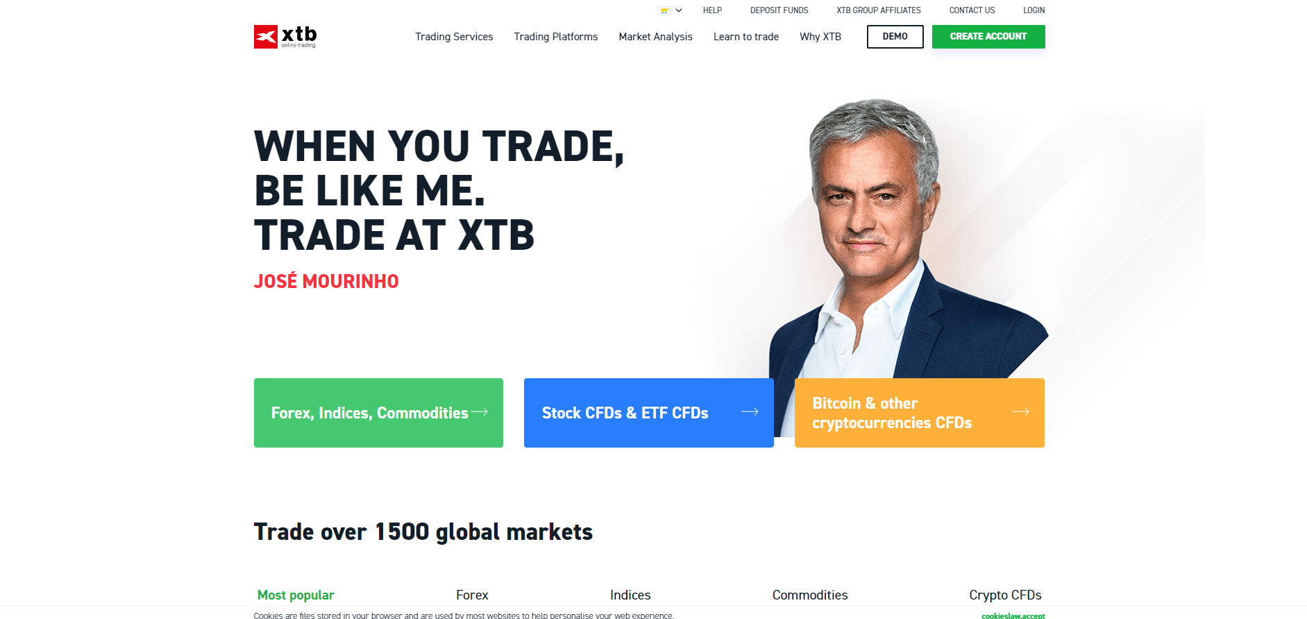 Official website of XTB